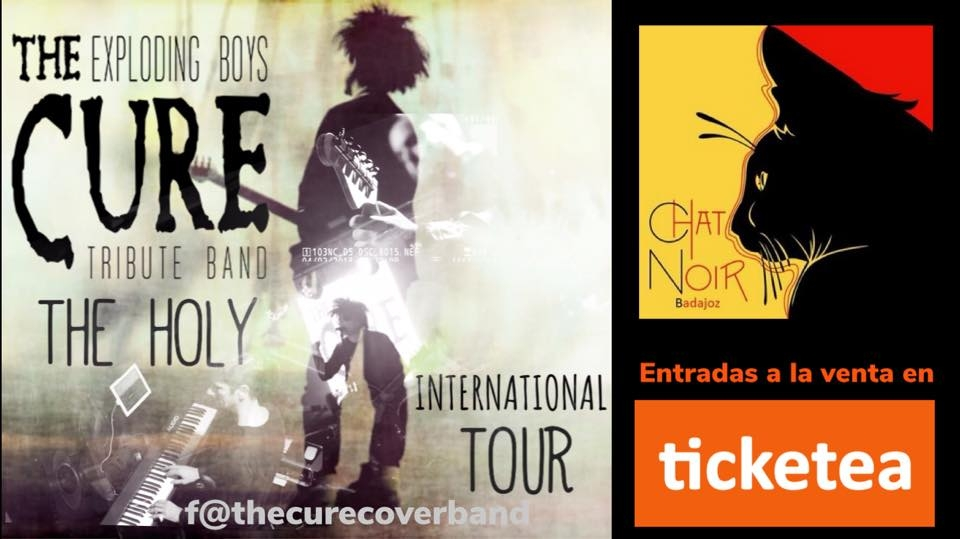The Exploding Boys en Sala Chat Noir Badajoz 14/09/18: Holy Tour