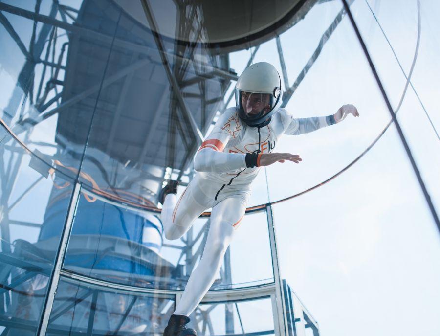 DreamFly traz um túnel de vento ao Porto para poder desafiar a gravidade