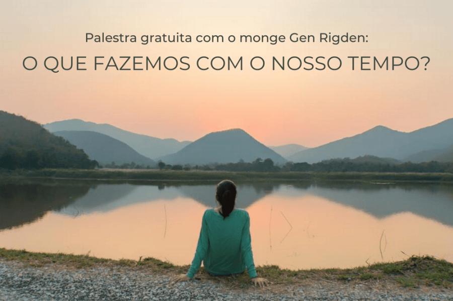 Palestra on-line gratuita: O QUE FAZEMOS COM O NOSSO TEMPO?