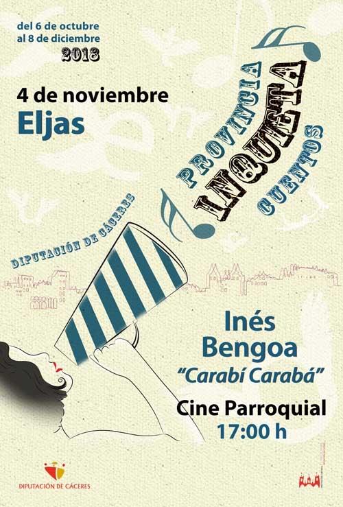 Provincia inquieta | CUENTACUENTOS: Inés Bengoa