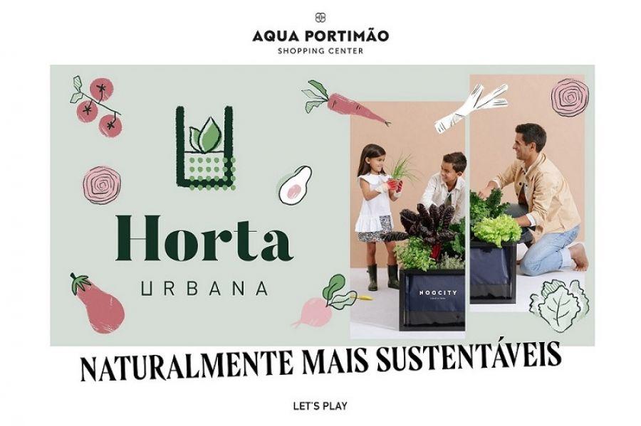 AQUA PORTIMÃO LANÇA AS SEMENTES  PARA PROJETO DE HORTA URBANA