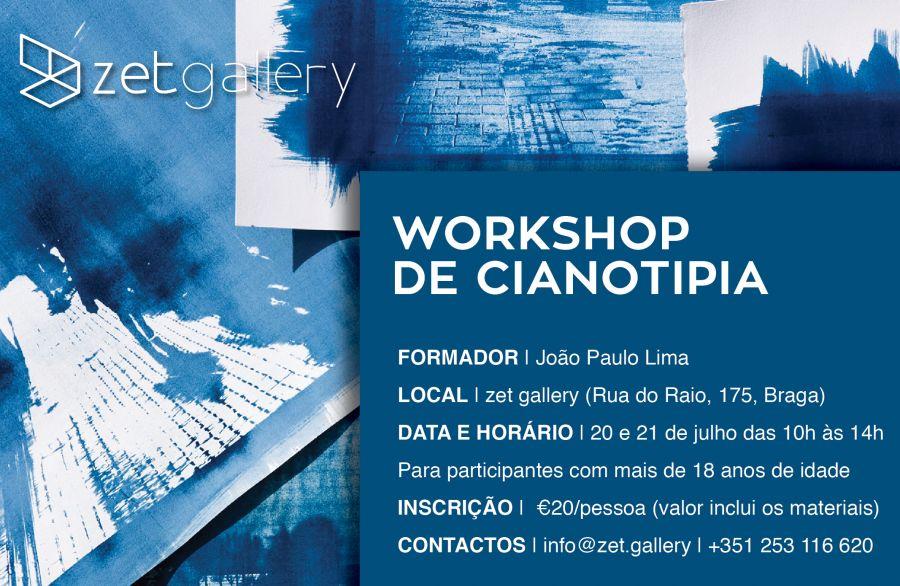 Workshop de Cianotipia