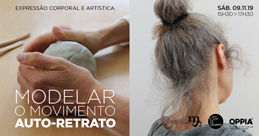 WORKSHOP MODELAR O MOVIMENTO : AUTO-RETRATO EM ARGILA