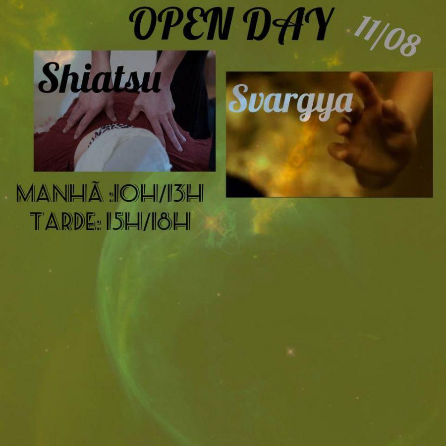 OPEN DAY: 'Shiatsu abraçando Svargya!'
