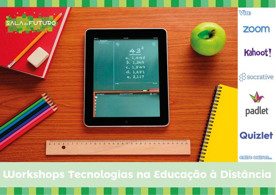 Workshops Tecnologias na Educação à Distância