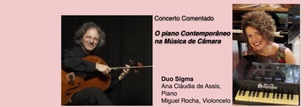 Concerto Comentado 'O piano Contemporâneo na Música de Câmara'