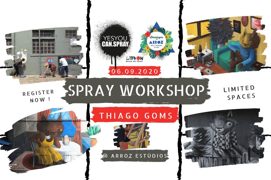 Spray workshop com GOMS