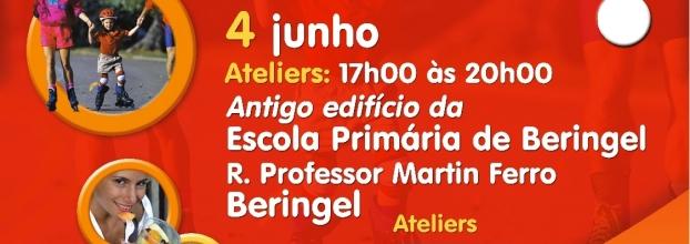 Médicos e enfermeiros numa Expo-Saúde este domingo 4 de Junho 17h-20h para quem for a Beringel