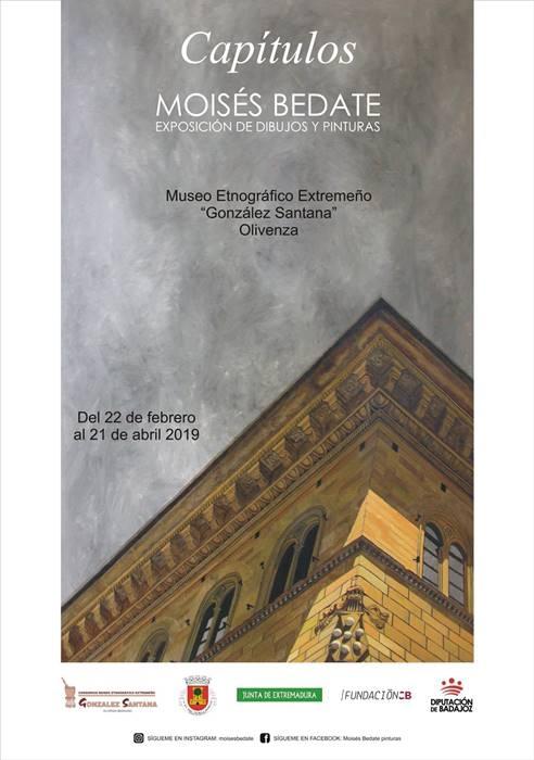 MOISÉS BEDATE. Exposición de dibujos y pinturas 'Capítulos'