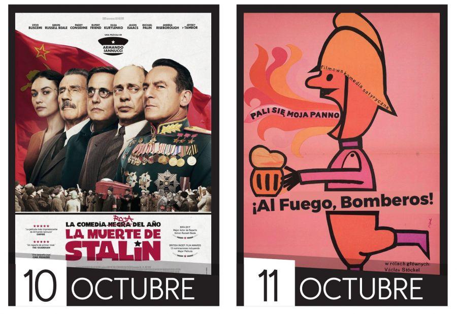 Cine UCR. La política es una comedia. La muerte de Stalin & ¡Al fuego bomberos!