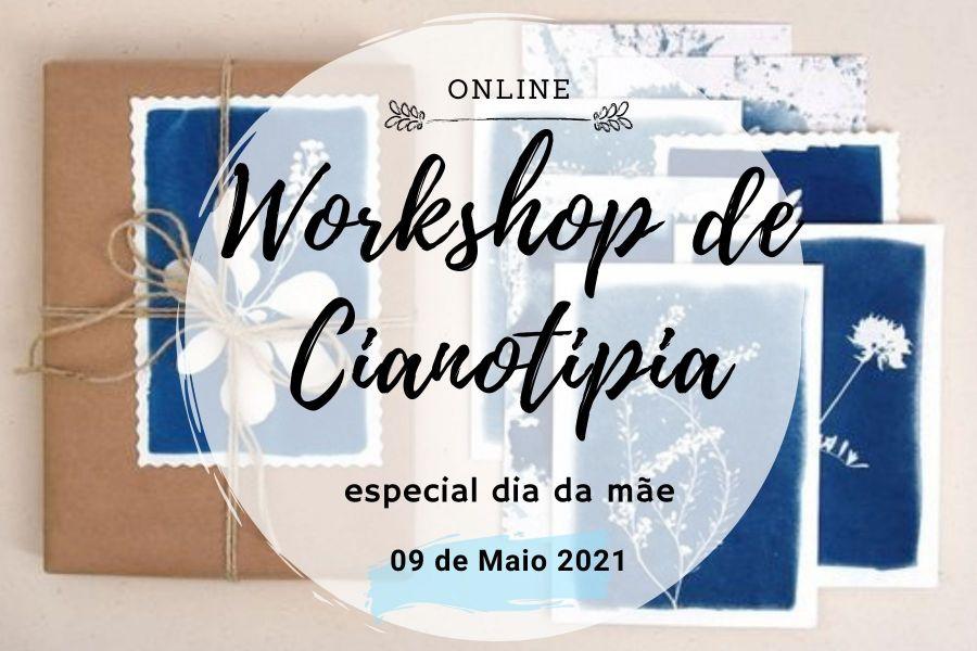 Workshop de cianotipia especial dia da mãe
