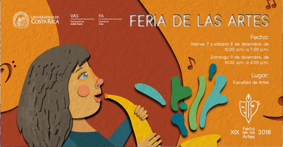 Feria de las artes UCR 2018. Talleres, presentaciones, gastronomía y más