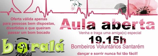 Dia internacional da mulher- Aula aberta de Zumba