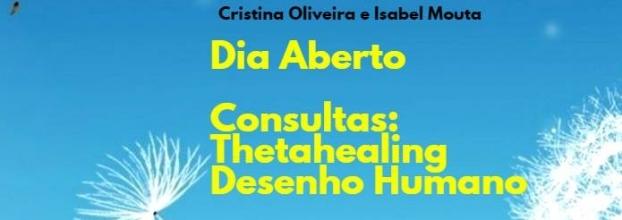 Dia Aberto de Consultas de ThetaHealing e de Desenho Humano