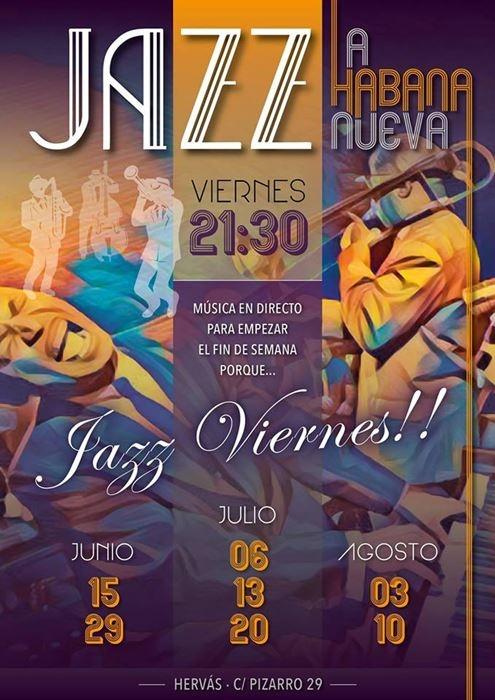 Espectáculo de jazz en directo || La Habana Nueva (Hervás)