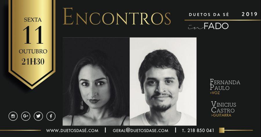 IN FADO – Encontros – Fernanda Paulo & Vinicius Castro