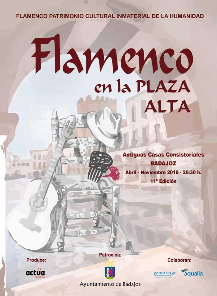 Actividades 11º edición Flamenco en la Plaza Alta