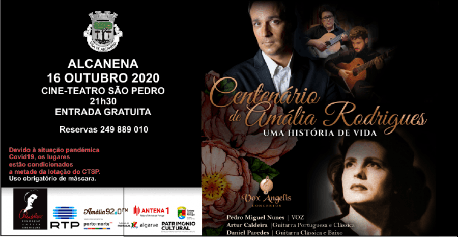 Concerto 'Centenário de Amália Rodrigues' - Ensemble Vox Angelis