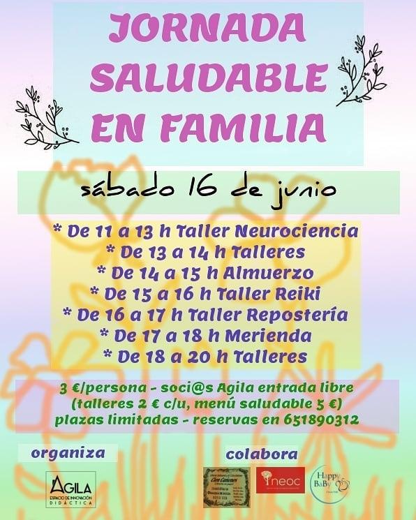 Jornada Saludable en Familia || Espacio Agila