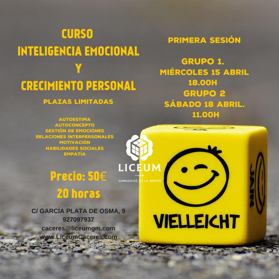 Curso Inteligencia Emocional y Crecimiento Personal