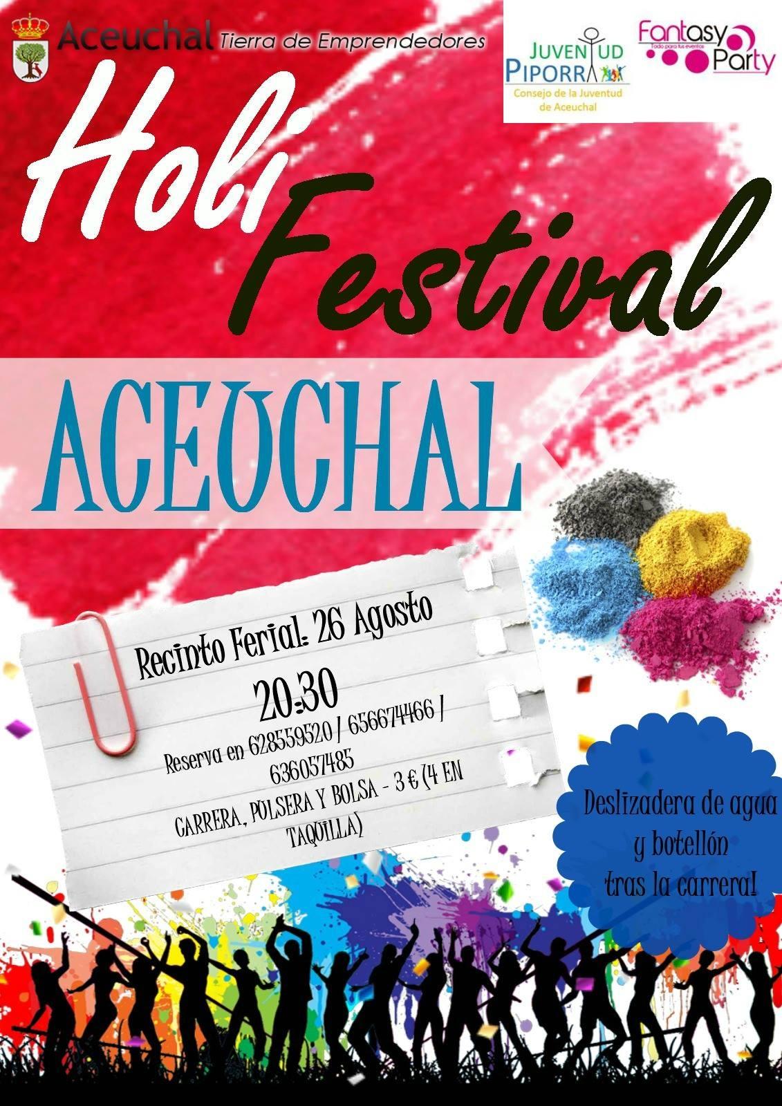 Holi Festival en Aceuchal