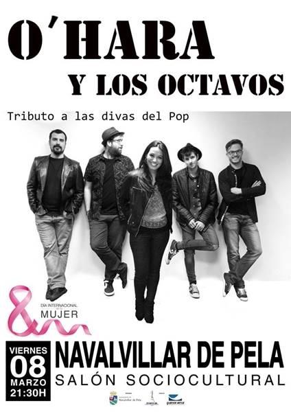 Concierto: O'HARA Y LOS OCTAVOS // Tributo a las divas del pop