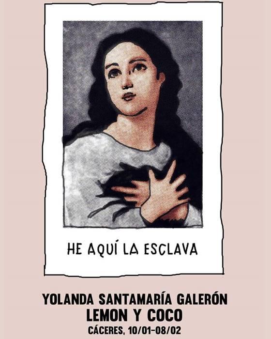 Exposición 'He aquí la esclava' de Yolanda Santamaría | Lemon y Coco