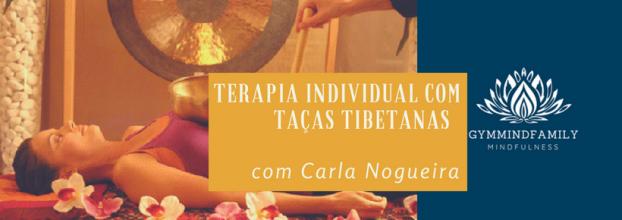 Terapia Individual com Taças Tibetanas