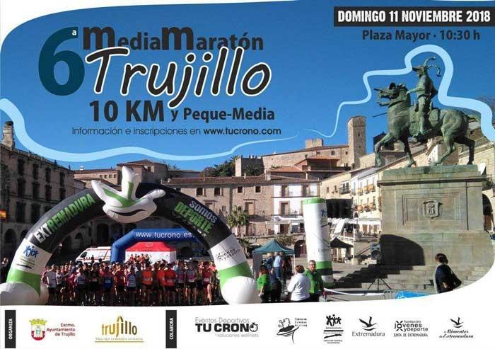 """Media maratón """"Ciudad de Trujillo"""" 2018"""