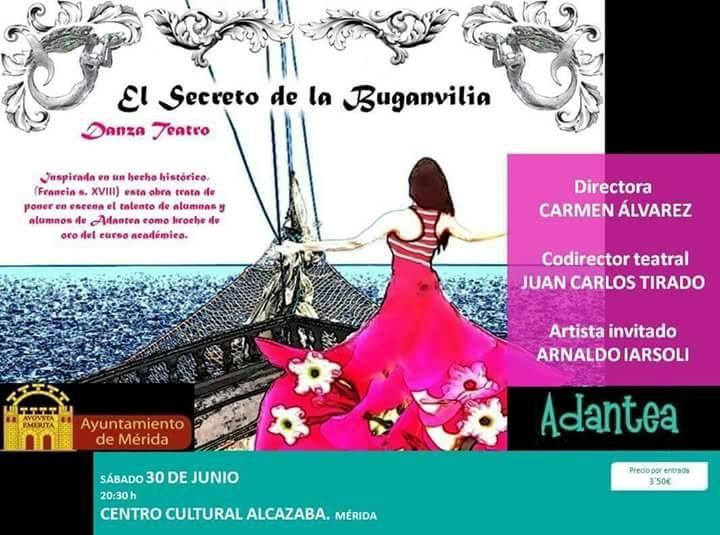 Danza Teatro 'El Secreto de la Buganvilia'