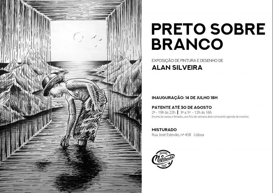 Alan Silveira : Preto sobre Branco