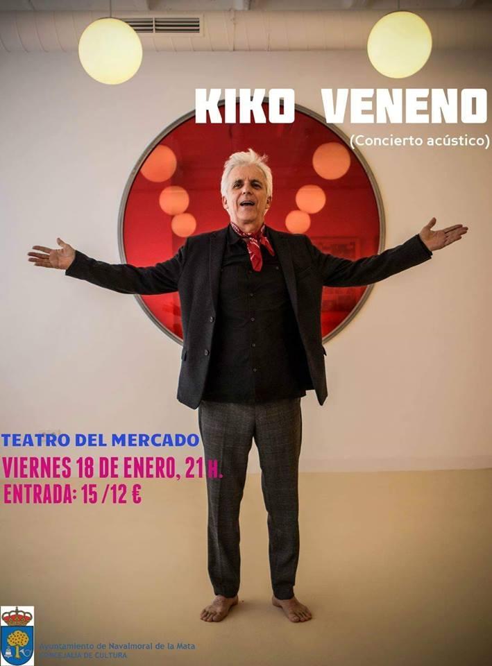Concierto acústico de Kiko Veneno | Navalmoral de la Mata