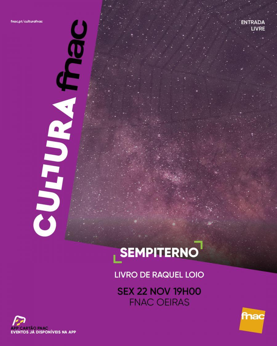 Apresentação livro 'SEMPITERNO' de Raquel Loio