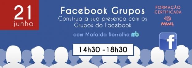 Formação: Construa a sua presença com os Grupos do Facebook