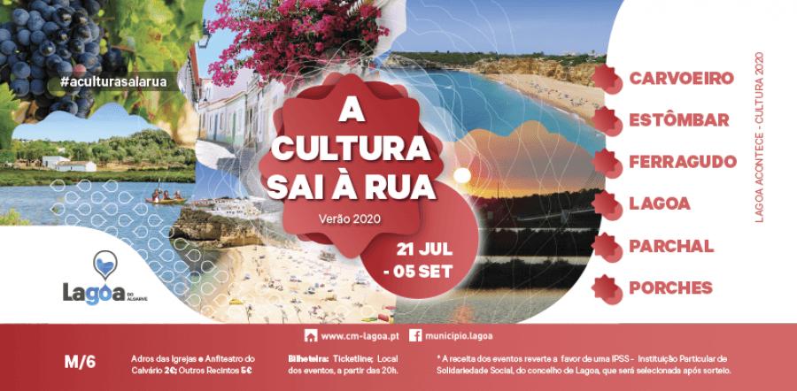 A Cultura Sai À Rua - Verão 2020