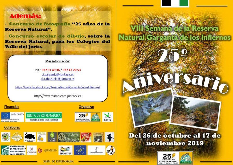 VIII Semana de la Reserva Natural de la Garganta de los infiernos