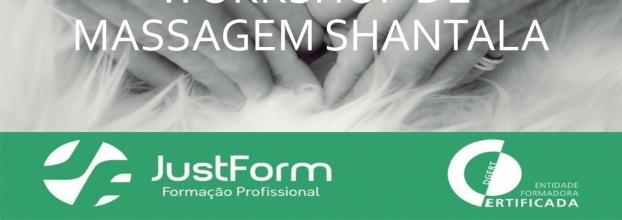 Workshop Massagem Shantala (com Certificação DGERT)
