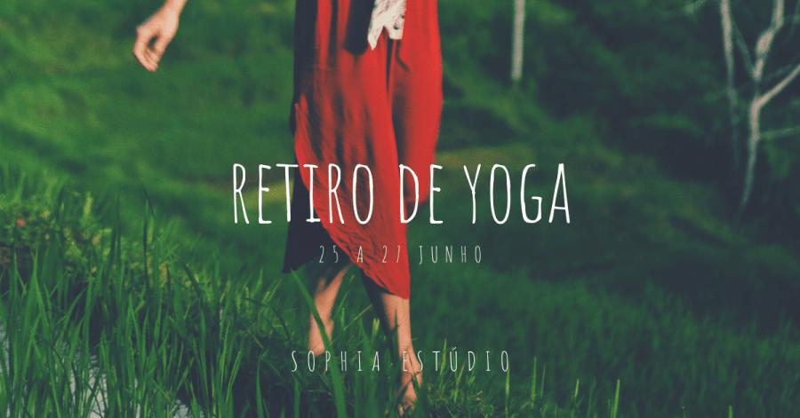 Retiro de Yoga   25 a 27 de Junho