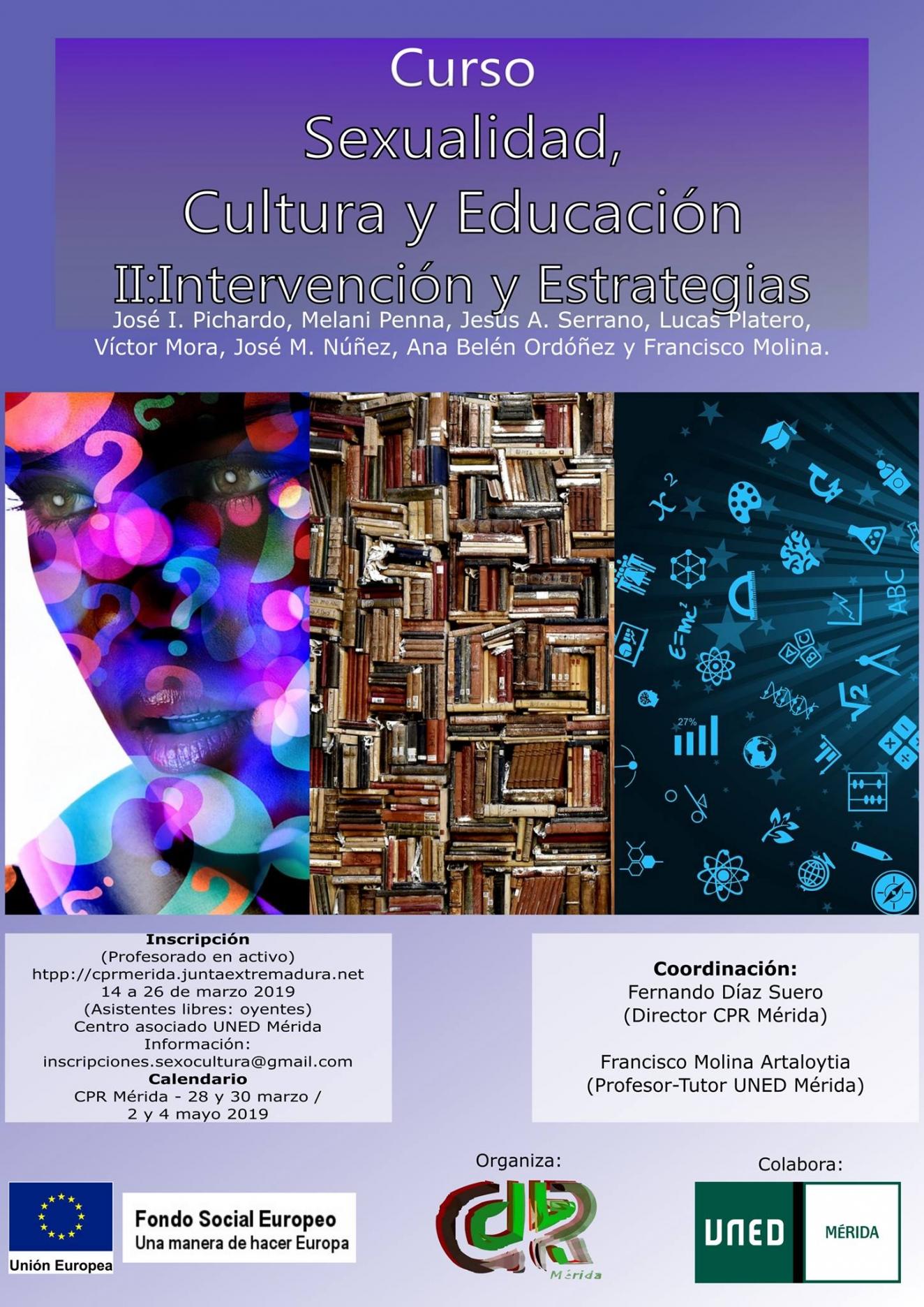 Curso || Sexualidad, Cultura y Educación