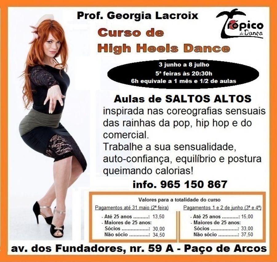 Curso de Saltos Altos (High Heels Dance)