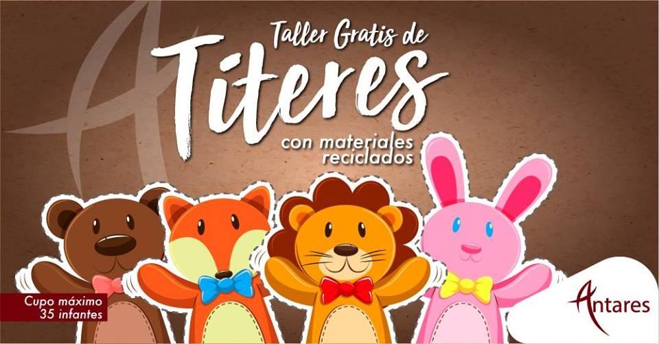 Manualidades Con Materiales Reciclados Titeres Gam Cultural