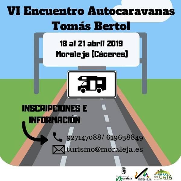 VI ENCUENTRO DE AUTOCARAVANAS TOMÁS BERTOL