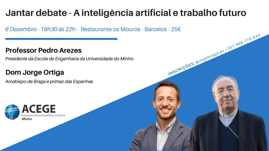 Jantar debate - A inteligência artificial e trabalho futuro