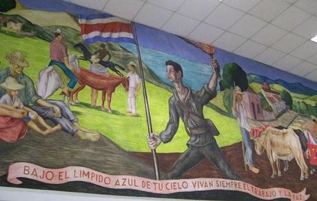 Sala Manuela Santamaría. Murales