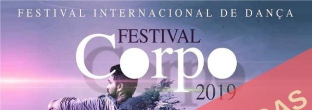 Festival Corpo.19 | 8.º Encontro Internacional de Dança | INSCRIÇÕES ESGOTADAS EM MENOS DE UM MÊS