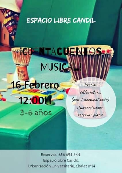 CUENTACUENTOS MUSICAL | Espacio Libre Candil