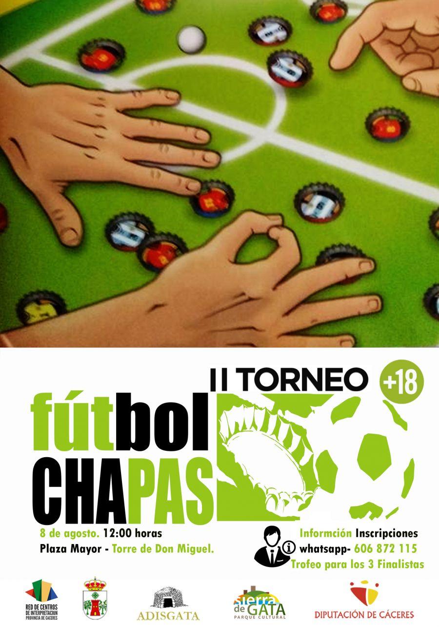 II TORNEO DE FÚTBOL CHAPAS