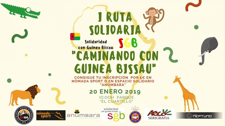 1ª Ruta Solidaria 'Caminando con Guinea Bissau'
