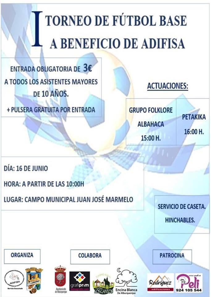 I Torneo de Fútbol Base (a beneficio de ADIFISA)