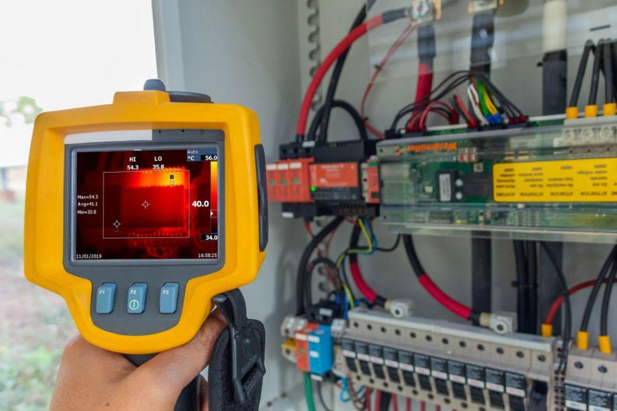 Manutenção em Instalações Elétricas | Inspeção Termográfica